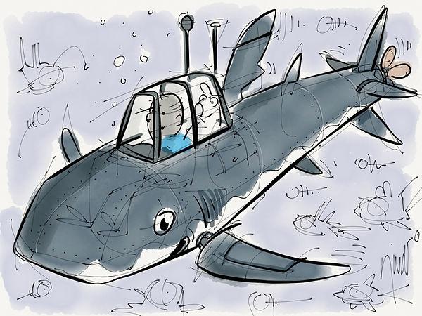 Tin Tin Submarine