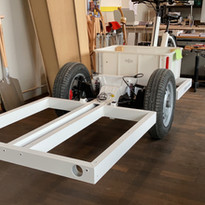 Chassis lackiert