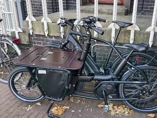 Mit den eigenen Bikes in Amsterdam