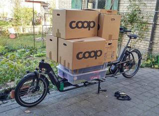 Umziehen mit dem Cargobike