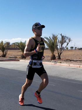 Pour son 1er 70.3 Maxime termine 5e à Marrakech.