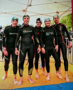 Vaulx en Velin, triathlon par équipes pour  les adultes  et Cross triathlon pour les jeunes...