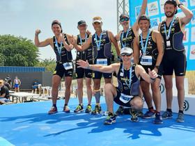 Championnats de France Aquathlon Jeunes, Triathlon M de Marseille, Triathlon des Collines, XS et S.