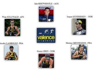 1ère étape du Grand Prix de D1, l'équipe du Valence Triathlon.