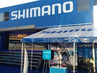 Visite chez nos partenaires cycles au Roc d'Azur. Shimano et Focus.