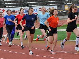 Entrainement Jeunes en commun Triathlon Romanais Péageois - Valence Triathlon