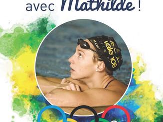 Mathilde est en route pour Rio