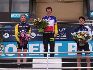 Beaux résultats aux France de Duathlon Jeunes pour les jeunes de l'école de triathlon du Valence