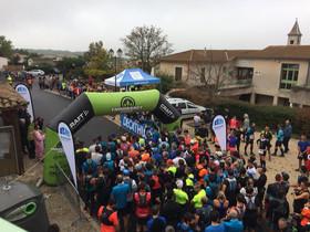 La 5è édition du Trail de la Raye, organisée par le Valence Triathlon, a fait le plein.