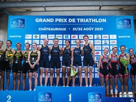 Grand Prix FFTRI et D2 à Châteauroux.