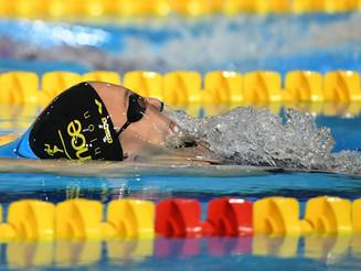 Titre et record de France sur 50m Dos pour Mathilde Cini aux France FFN bassin de 25m.