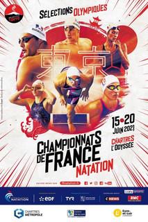 Mathilde Cini aux Championnats de France Elites FFN à Chartres, bassin de 50m du 15 au 20 juin.