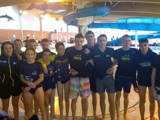 Début de saison sur les compets natation pour les jeunes à Montélimar.