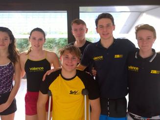 Week-end chargé pour le Valence Triathlon.