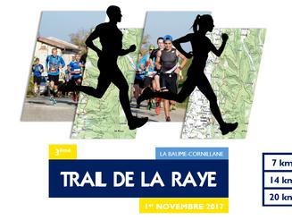 3è édition du Trail de la Raye, organisé par le Valence Triathlon, c'est bientôt !