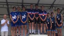 Championnats de France Jeunes de Triathlon : Le titre pour les cadets par équipe.