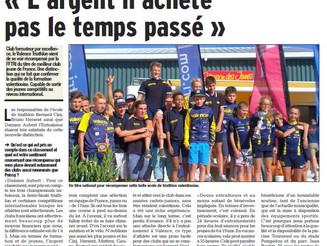 Valence Triathlon remporte le Challenge National Jeunes