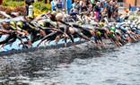 1ère étape du Grand Prix de Triathlon à Dunkerque le 13 juin.