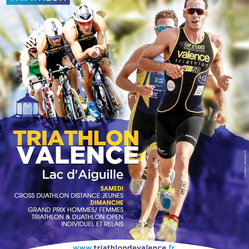 Affiche officielle 2018 triathlon