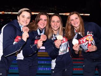 Mathilde ramène 1 médaille de bronze et 2 records de France des Championnats d'Europe de Natatio