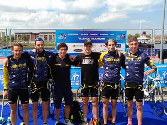 Valence Triathlon 4è sur la 1ère étape du Grand Prix de D1 à Dunkerque.