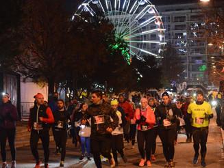 2ème Trail Nocturne de Noël à Valence, 988 participants !