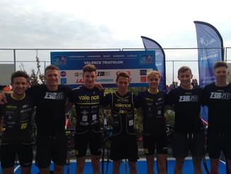 L'équipe Elite du Valence Triathlon termine à la 6ème place du Grand Prix FFTRI de Triathlon 201