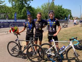 Championnat de France Elites/U23, Coupe d'Europe Junior à Holten, Ironman de Nice.