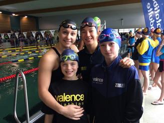 Interclubs départementaux de natation à Bourg-de -Péage.