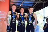 France Jeunes de Triathlon, 2 podiums par équipe pour le Valence Triathlon.