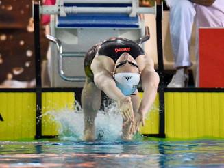 Mathilde Cini qualifiée pour les Championnats du Monde sur 100 Dos.