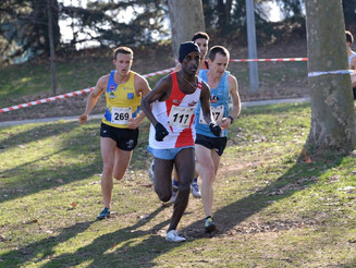 1/4 de finale zone Est Championnats de France cross-country à Valence.