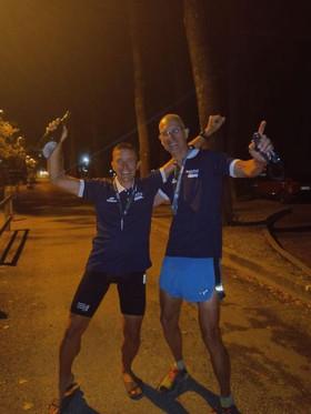 2  finishers du Valence Triathlon à Embrun !