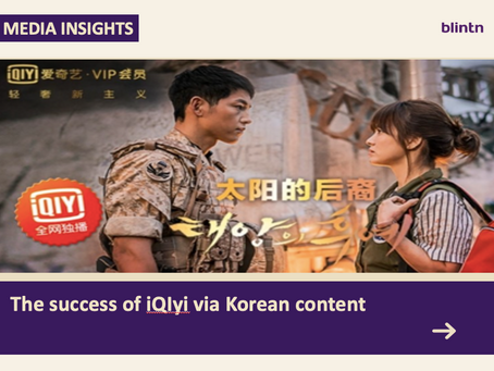 The price of Korean tv-series are leaping thanks to Chinese OTT platforms