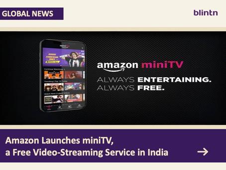 Amazon Joins Free OTT Market in India