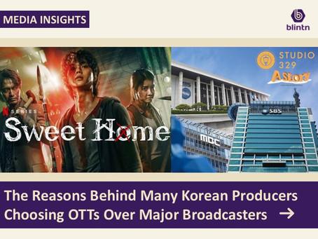 The Reasons Behind Many Korean Producer Choosing OTT Platforms Over Major Broadcasters