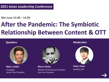 [ALC] After the Pandemic: The Symbiotic Relationship Between Content & OTT