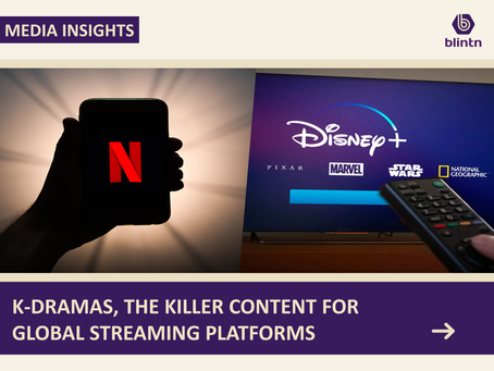 K-dramas, Killer Content for Streaming Platforms