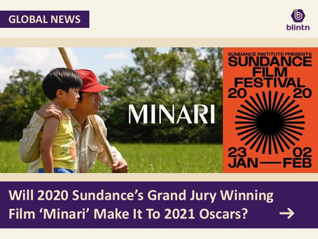 Will 2020 Sundance's Grand Jury Winning Film 'Minari' Make It To 2021 Oscars?