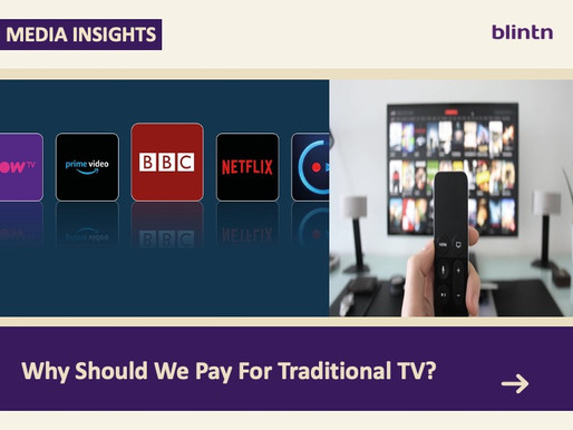 Why Should We Pay For Traditional TV?