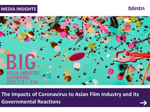 The Impacts of Coronavirus to Asian Film Industry and its Governmental Reactions