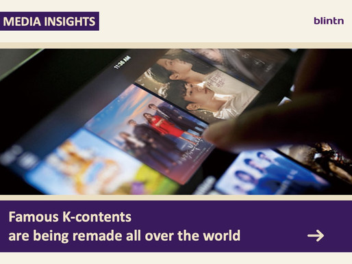 Famous K-contents are being remade all over the world