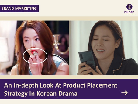 An In-depth Look At Product Placement Strategy In Korean Drama