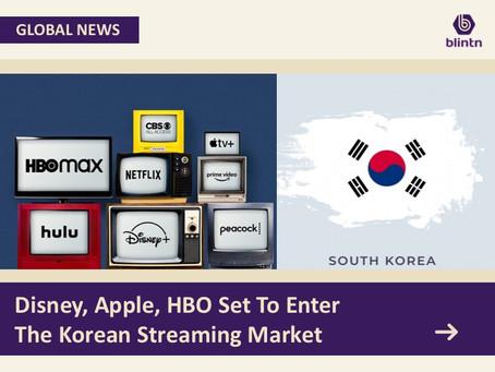 Disney, Apple, HBO Set To Enter the Korean Streaming Market