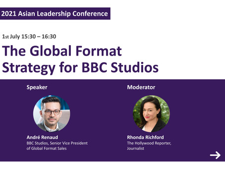 [Asian Leadership Conference] Global Format Strategy for BBC Studios