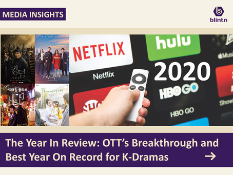 The Year In Review: OTT's Breakthrough and Best Year On Record for K-Dramas
