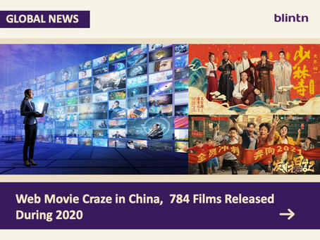 Web Movie Craze in China, 784 Films Released During 2020