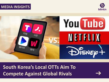 South Korea Local OTTs Against Global Rivals