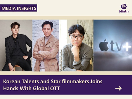 Korean Talents and Star filmmakers Joins Hands With Global OTT