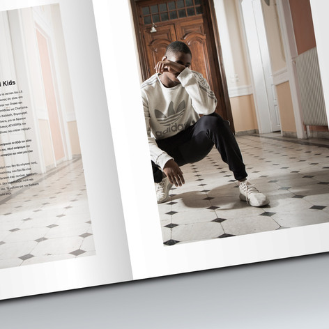 Adidas Originals Tubular Lookbook design (photography: Panos Georgiou)